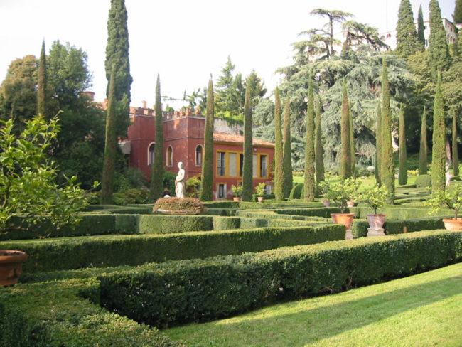 The giusti palace garden palazzo e giardino giusti verona